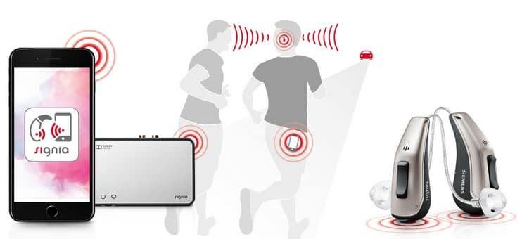 signia pure 13bt hearing aid iphone