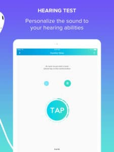 hearing test fennex app
