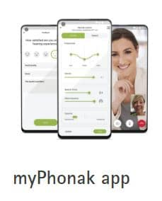 my phonak app