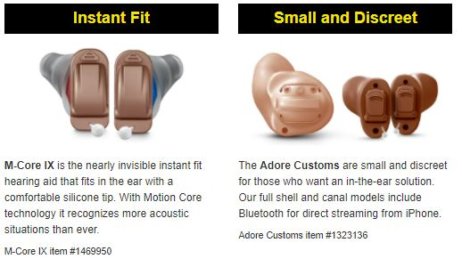 rexton custom hearing aids