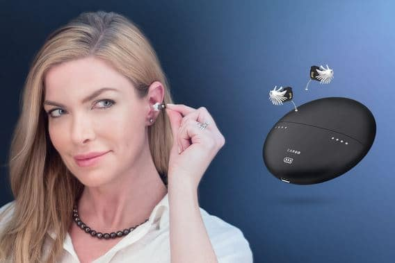 eargo max rechargeable hearing aid