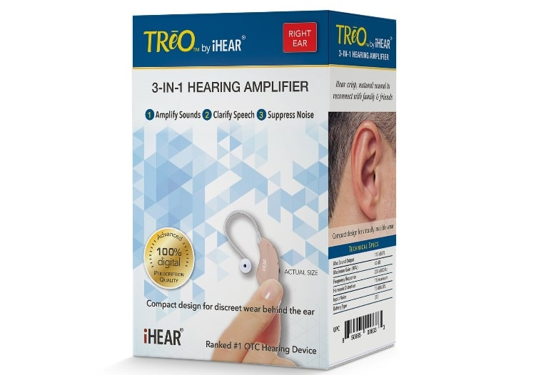 otc hearing aid treo ihear medical