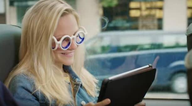 motion sickness cure seetroen glasses