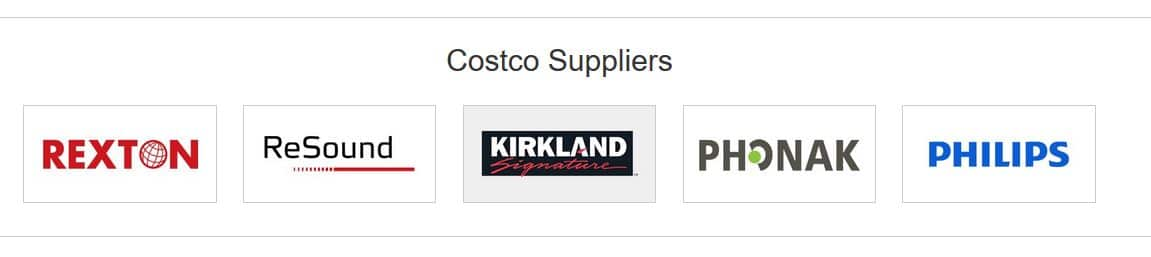 costco hearing aid suppliers