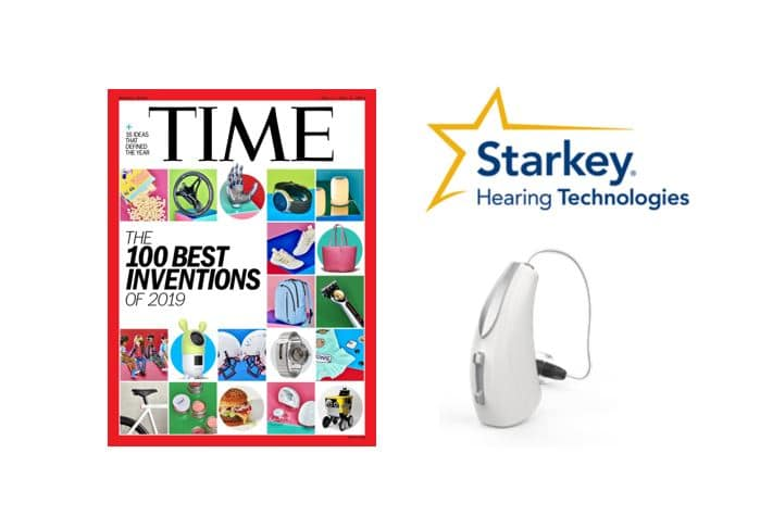 starkey livio ai time magazine invention