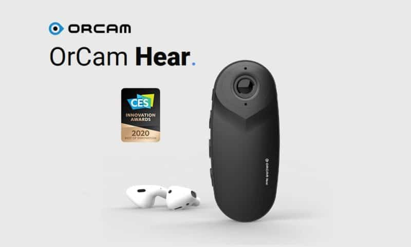 orcam hear wearable hearing aids