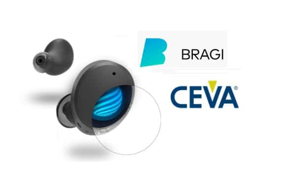 bragi ceva hearable partnership