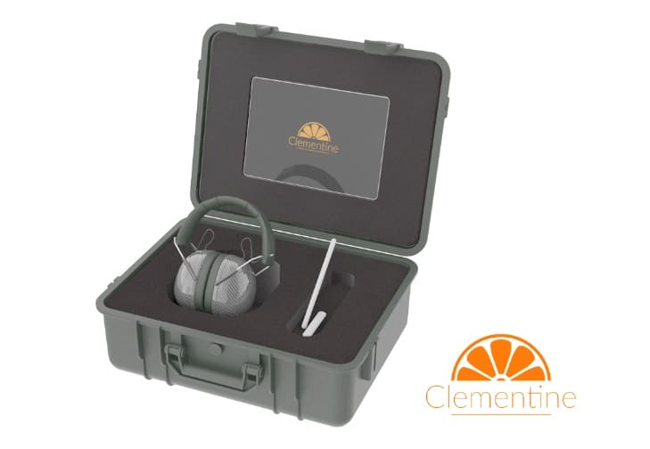 clementine home remote audiology kit