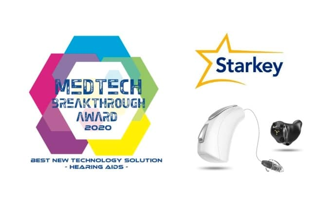 starkey livio edge ai hearing aid award