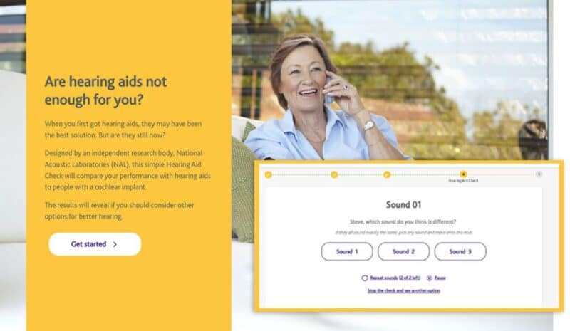 hearing aid check cochlear
