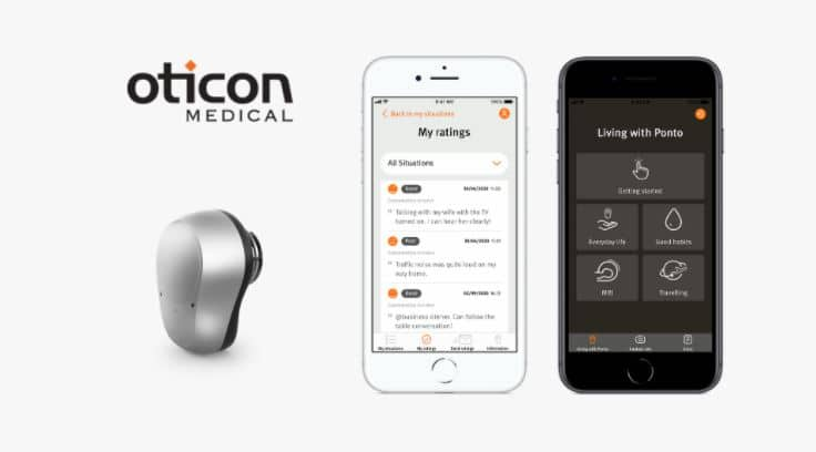 ponto care app oticon medical