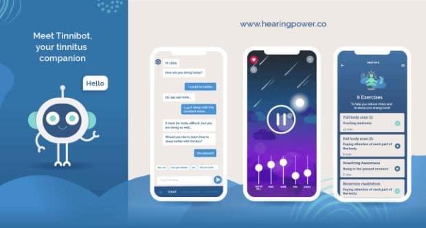 tinnibot tinnitus app