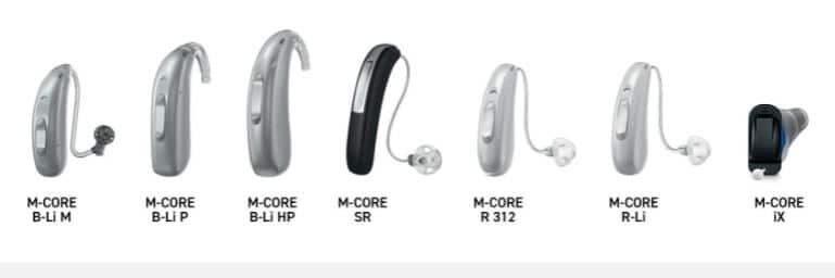 rexton m-core hearing aids