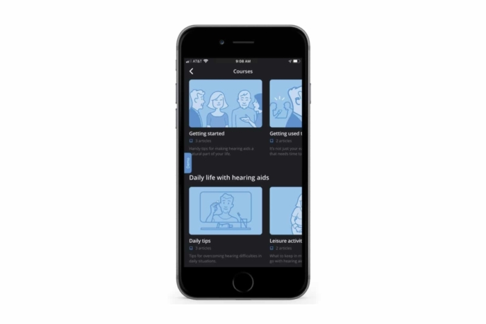 The WIDEX MOMENT App