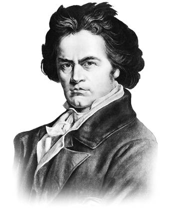 beethoven hearing loss deafness
