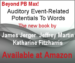 Auditory Event Related Potentials to Words: Jerger, Martin, Fitzharris