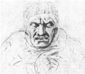 Bell's Drawing of the Expression of Jealousy