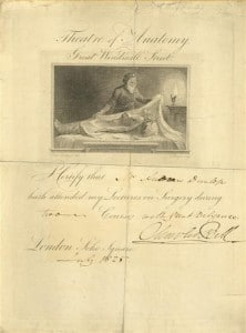 Diploma - Signed by Charles Bell