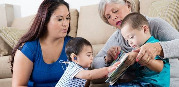 remote mic children hearing loss