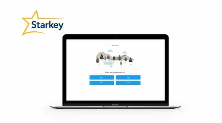 starkey online hearing test