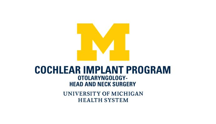 university michigan cochlear implant program