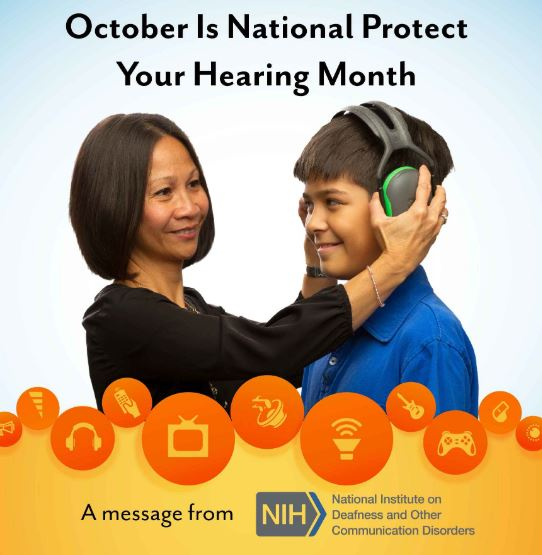 october protect hearing month
