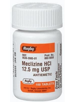 meclizine for vertigo dizziness