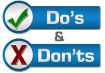 wearing hearing aid do's and don'ts
