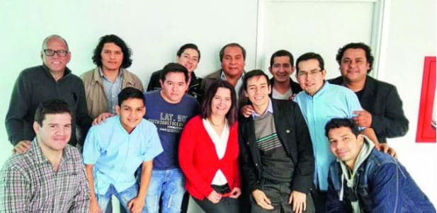 © Panadex - The staff of the Hearing and Vestibular Diagnosis and Rehabilitation Centre (CDRAV) in Lima, Peru