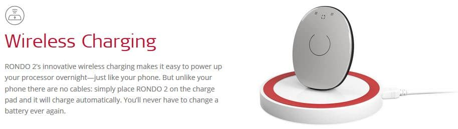 rondo 2 wireless charging dock