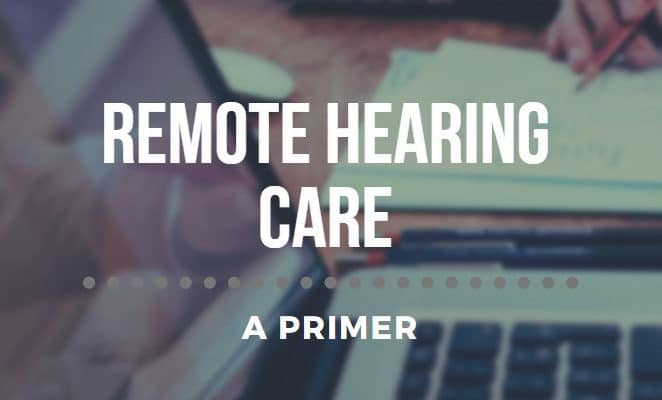 telehealth audiology hearing aids