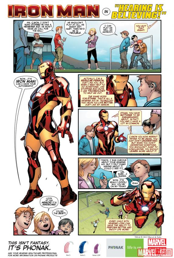 Ironman comes to Ethan's aid.