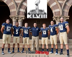 The 2013 Gallaudet Football Team