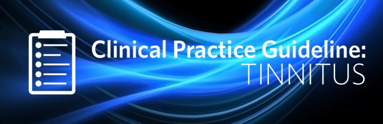 Tinnitus treatment guidelines audiologists ent