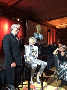 One more time: Jerry Northern and Marion Downs at her 100th birthday celebration