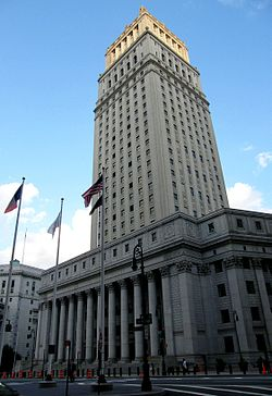 Thurgood Marshall United States Courthouse in Manhattan.