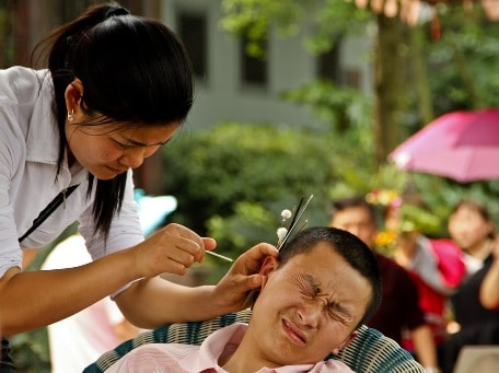 china earwax removal