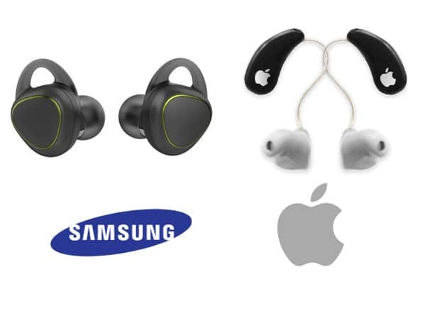 apple earpod samsung iconx