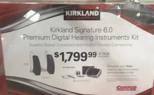 Kirkland Signature 6 hearing aid price ks6