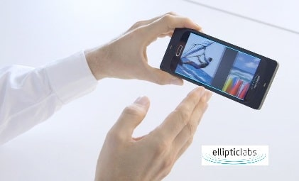 ultrasound smarphone elliptic labs