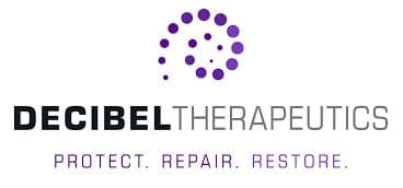 decibel therapuetics hearing loss drug