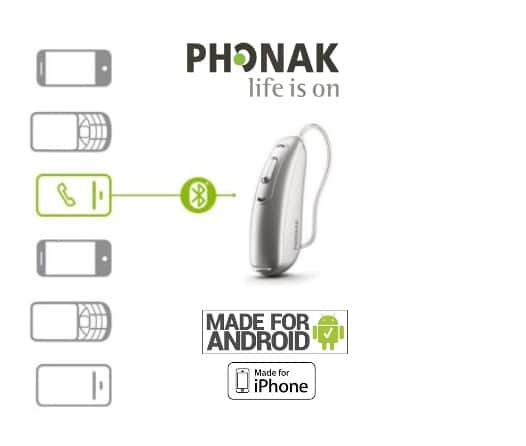 phonak audeo b direct hearing aid