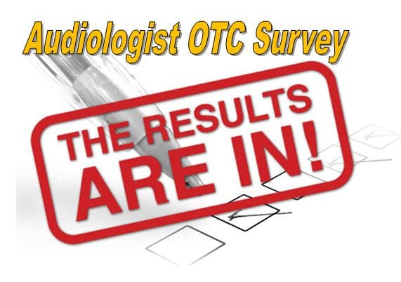 audiologist otc hearing aid survey