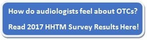 audiologist otc survey results