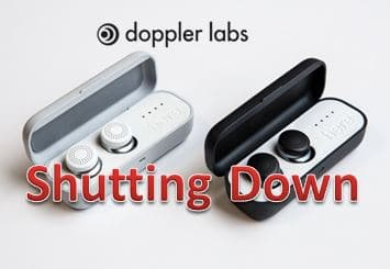 doppler one hearable shuts down