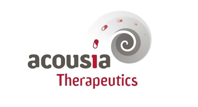 acousia therapeutics hearing loss drug