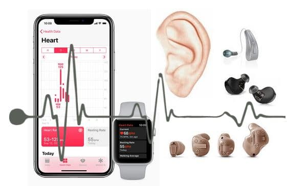 hearing aid health biometrics