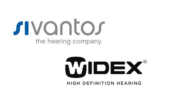 sivantos widex hearing aid merger