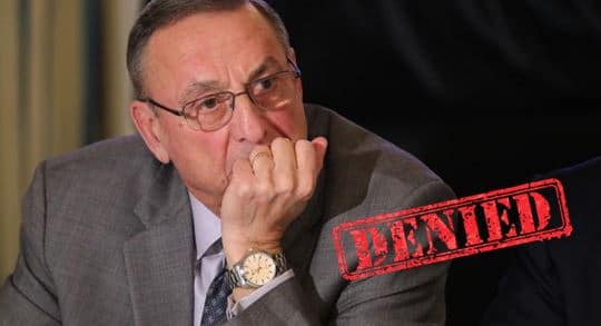 maine lepage veto hearing aid bill