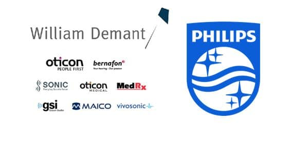william demant philips healthcare partnership